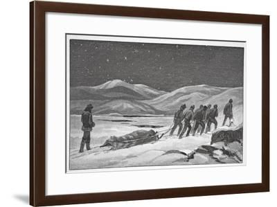 Our First Funeral, January 20, 1884, Pub London 1886-J. Steeple Davis-Framed Giclee Print