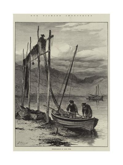 Our Fishing Industries, Herring-Boats on Loch Fyne--Giclee Print