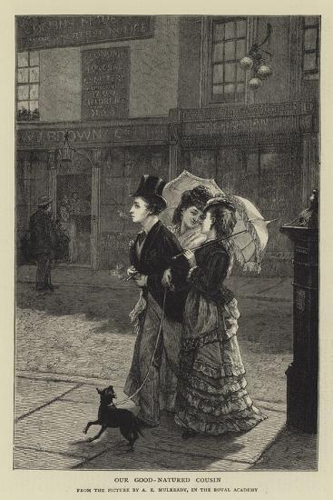 Our Good-Natured Cousin-Augustus Edward Mulready-Giclee Print