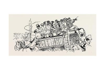 Our Great Football Match, Pelicans Versus Phantoms: We Drive Down--Giclee Print