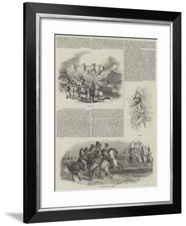 Our Great Victory in the East--Framed Giclee Print