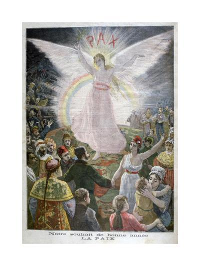 Our Hope for the New Year: Peace, 1894--Giclee Print