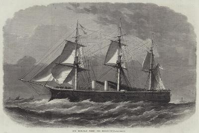 Our Iron-Clad Fleet, the Bellerophon-Edwin Weedon-Giclee Print