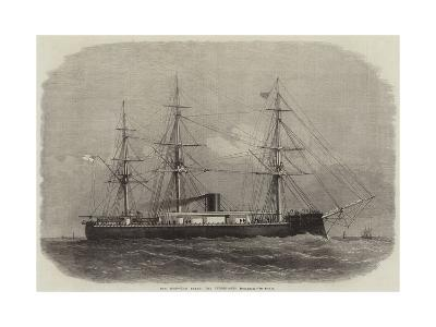 Our Iron-Clad Fleet, the Turret-Ship Monarch-Edwin Weedon-Giclee Print