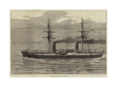 Our Ironclad Fleet, HMS Inflexible--Giclee Print