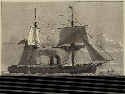 Our Ironclad Fleet, HMS Temeraire, Launched at Chatham on Tuesday Last--Giclee Print