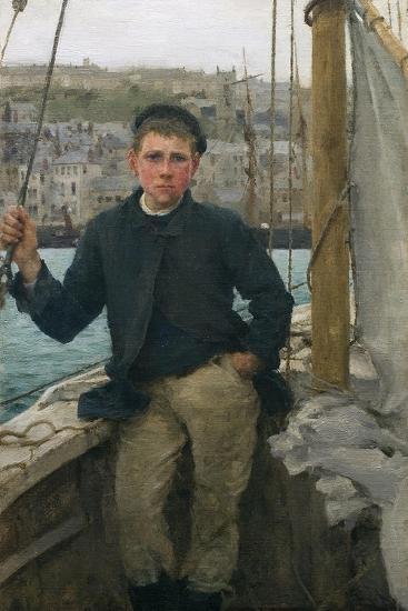 Our Jack, 1886-Henry Scott Tuke-Giclee Print