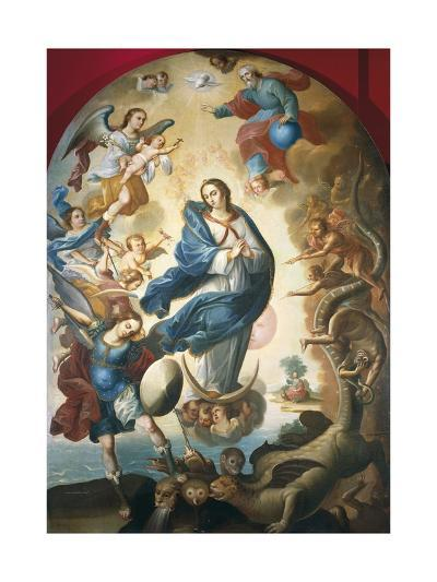 Our Lady of Apocalypse, Miguel Vallejo--Giclee Print