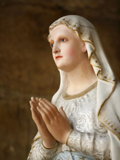 Our Lady of Fatima, Semur-En-Auxois, Cote D'Or, Burgundy, France, Europe-Godong-Photographic Print