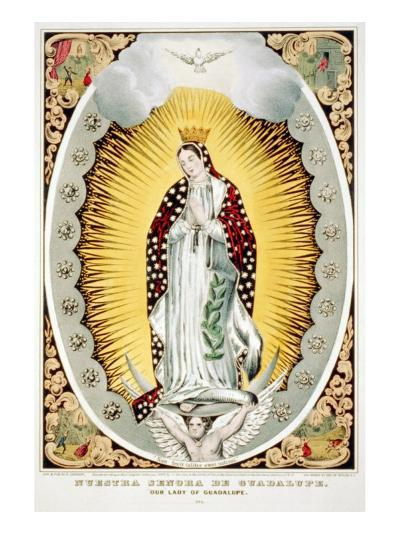 Our Lady of Guadalupe, 1848--Photo