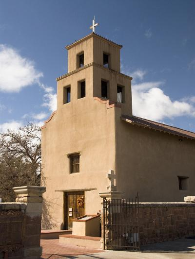 Our Lady of Guadalupe Church (El Santuario De Guadalupe Church), Built in 1781, Santa Fe, New Mexic-Richard Maschmeyer-Photographic Print