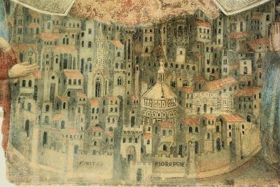 Our Lady of Mercy Church in Florence, 1352, Italy, Detail--Giclee Print