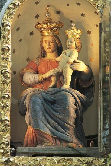 Our Lady of Polsi Sanctuary, Statue of Our Lady of Mountain, San Luca, Calabria, Itlay--Giclee Print