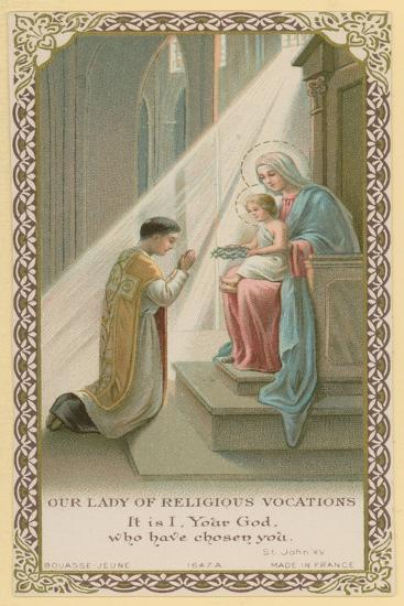 Our Lady of Religious Vocations--Giclee Print