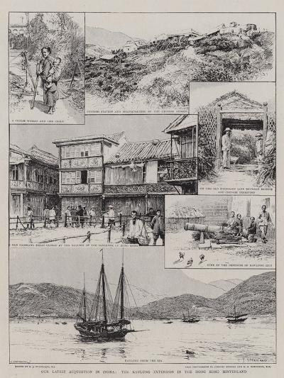Our Latest Acquisition in China, the Kaulung Extension in the Hong Kong Hinterland-Charles Joseph Staniland-Giclee Print