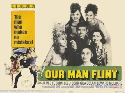 Our Man Flint, 1966--Art Print