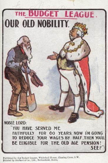 Our Old Nobility--Giclee Print