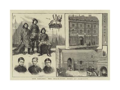 Our Sailors, the Smack-Boys' Home at Ramsgate--Giclee Print