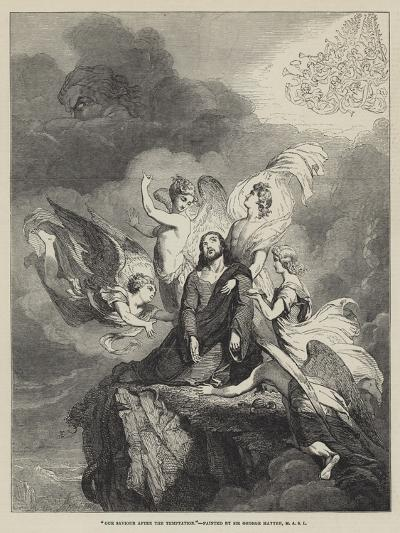 Our Saviour after the Temptation-Sir George Hayter-Giclee Print