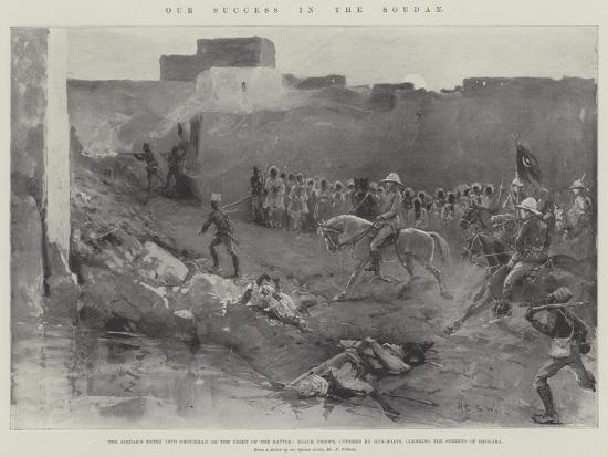 Our Success in the Soudan-Henry Charles Seppings Wright-Giclee Print
