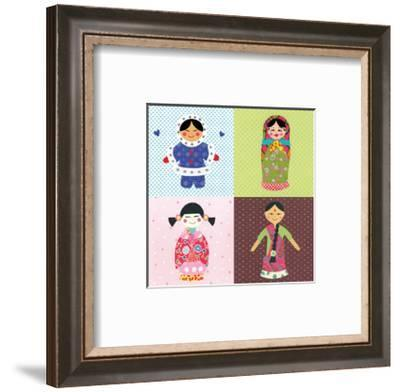 Our World-Rachel Taylor-Framed Giclee Print