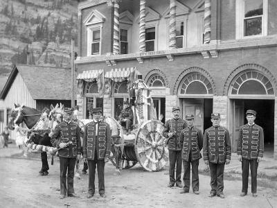 Ouray Fire Department, City Hall, C.1906--Photographic Print
