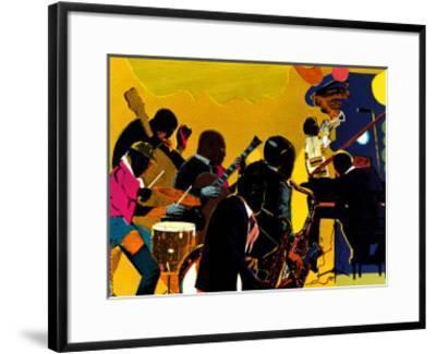 Out Chorus-Romare Bearden-Framed Art Print