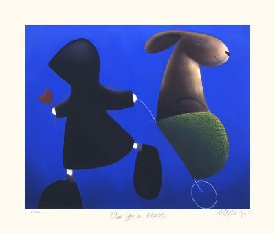 Out for a Walk-Mackenzie Thorpe-Collectable Print