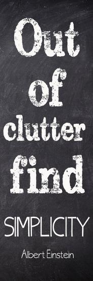 Out Of Clutter-Taylor Greene-Art Print