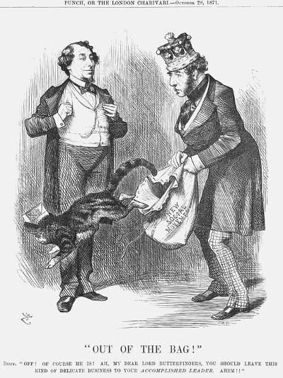 Out of the Bag!, 1871-Joseph Swain-Giclee Print