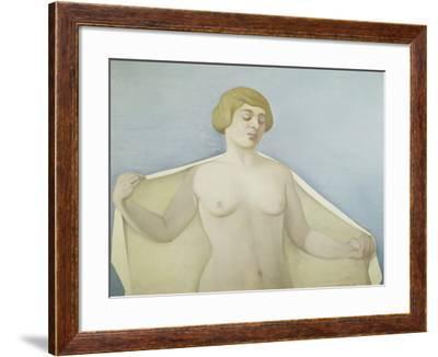 Out of the Bath-Félix Vallotton-Framed Giclee Print