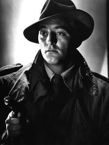 OUT OF THE PAST, 1947 directed by JACQUES TOURNEUR Robert Mitchum (b/w photo)