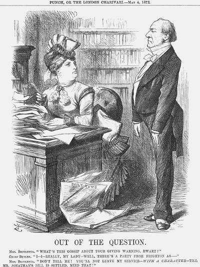 Out of the Question, 1872-Joseph Swain-Giclee Print