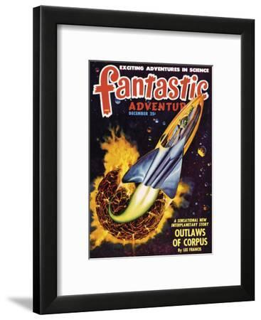 Out of this World II-The Vintage Collection-Framed Art Print