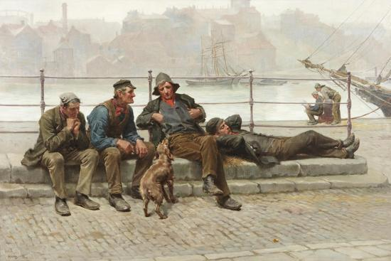 Out of Work, 1888-Ralph Hedley-Giclee Print