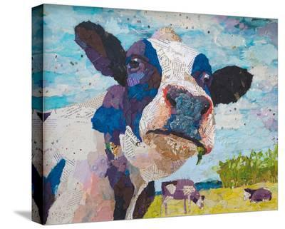 Out To Pasture--Stretched Canvas Print