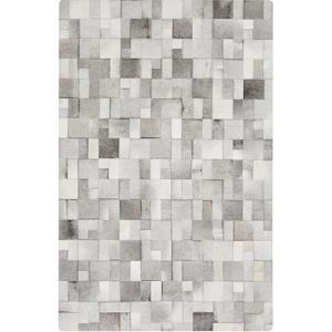 Outback Area Rug - Light Gray/Gray 5' x 8'