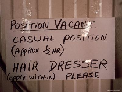 Outback Cattle Station Owners Wife Advertises for a Hair Dresser, Australia-Jason Edwards-Photographic Print