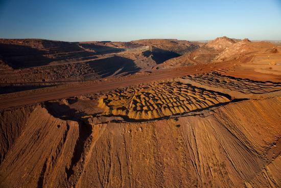 Outback mines aerials.-John Gollings-Photo