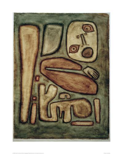 Outbreak of Fear III-Paul Klee-Giclee Print