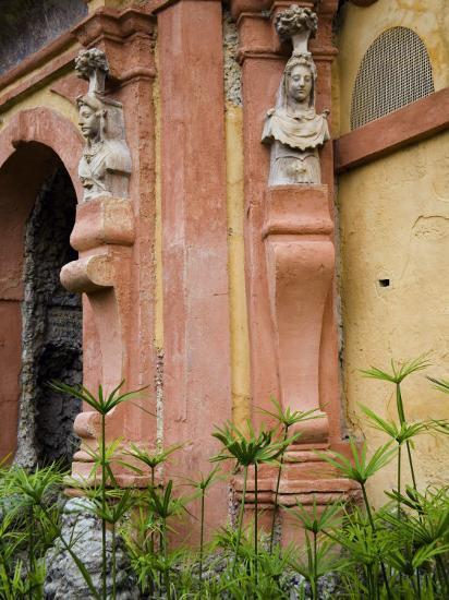 Outdoor Architectural Detail in the Moorish-Built Alcazar-Scott Warren-Photographic Print