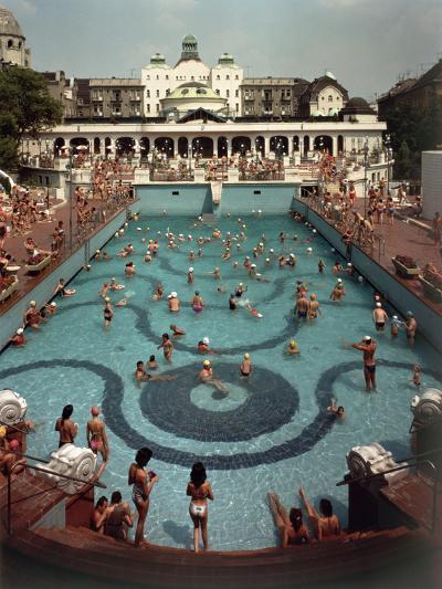 Outdoor Pool--Photographic Print