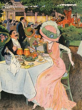 Outdoor Restaurant 1909