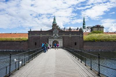 Outer Gate to UNESCO World Heritage Site Kronborg Renaissance Castle, Helsingor, Denmark-Michael Runkel-Photographic Print