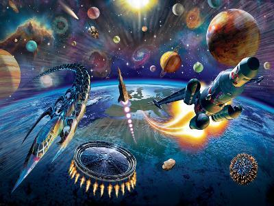 Outer Space-Adrian Chesterman-Art Print