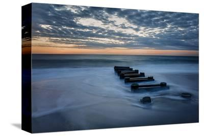 Outfall at Sunrise #4-Robert Lott-Stretched Canvas Print