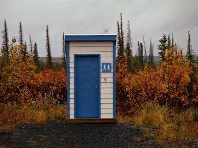 Outhouse in the Bush-Raymond Gehman-Photographic Print