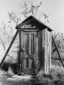Outhouse on A Farm