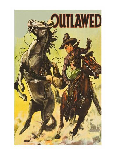 Outlawed--Art Print
