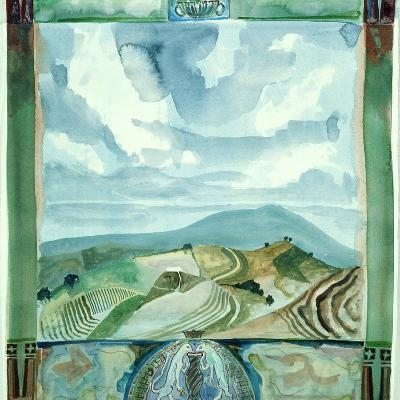 Outlook - Umbria-Michael Chase-Giclee Print